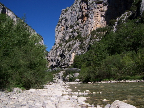 Steg von Estellie, Grand Canyon du Verdon