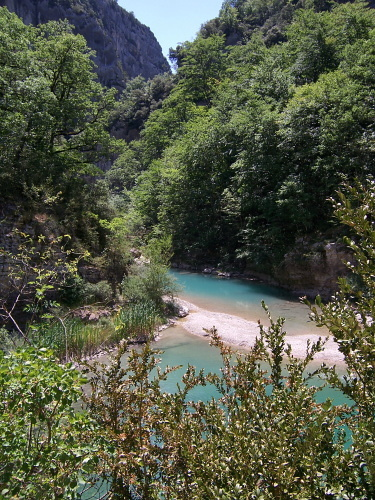 Mescla im Grand Canyon du Verdon