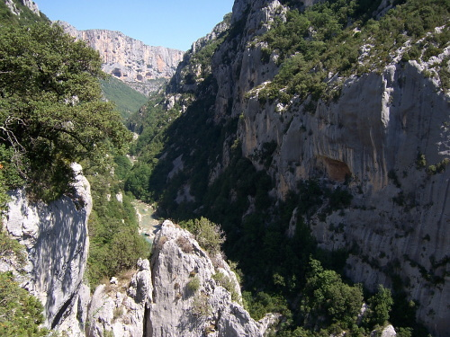 Breche Imbert, Escales, Grand Canyon du Verdon